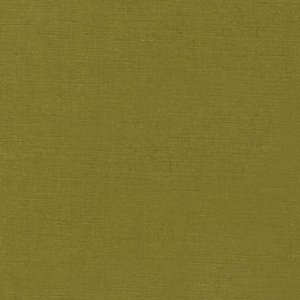 Medium green fabric, the color of a green olive.