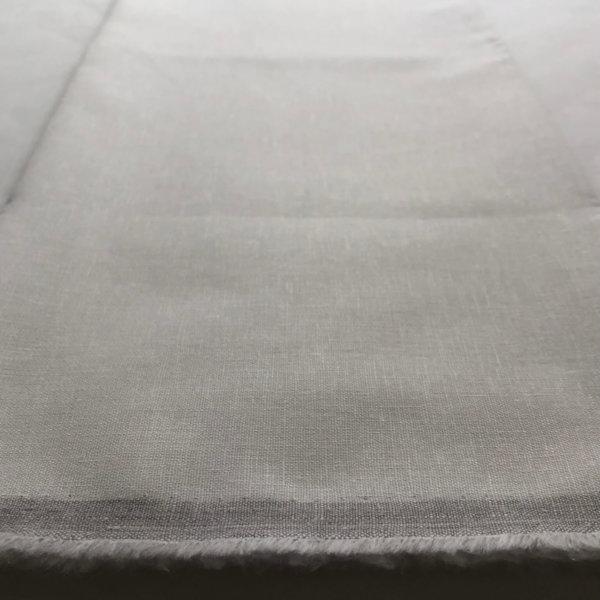 white cotton-linen blend fabric