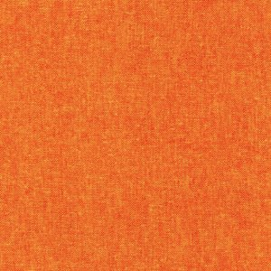 Flame orange fabric