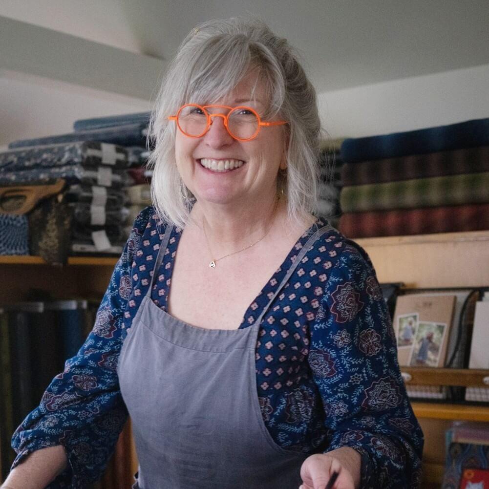 Michelle Collyer, Owner of Warp + Weft