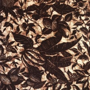 All the colors of the chocolate rainbow tropical batik print fabric