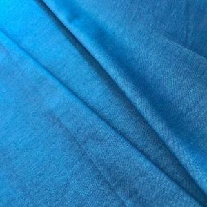 Blue fabric, pleated.
