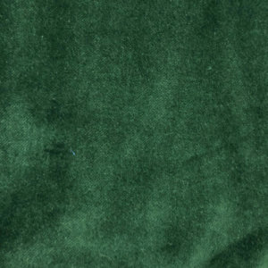 Rich, pine green velveteen. That's it. Nothing else in the photo.