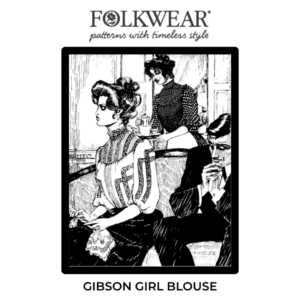 Line drawn cover art of two gibson girls
