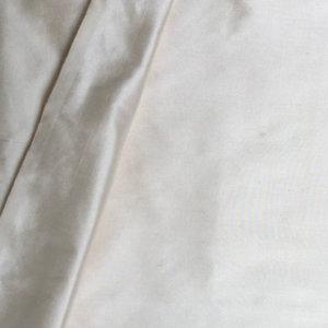 Antique White Silk Shantung