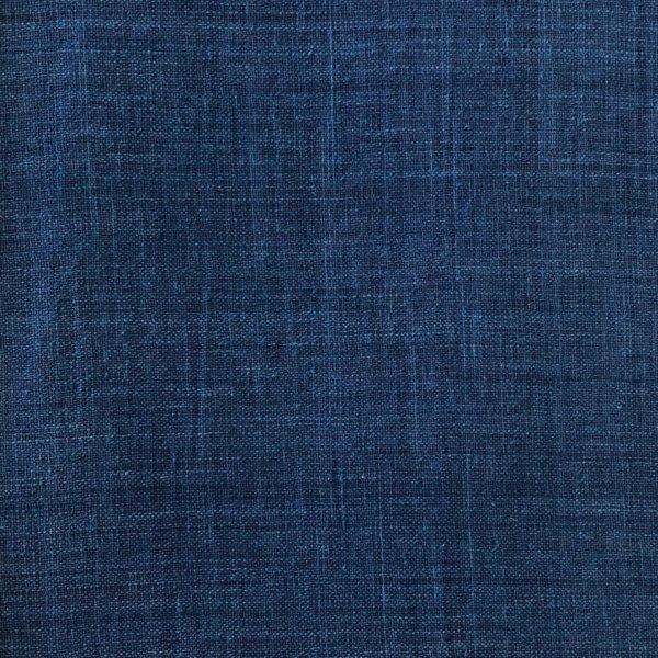 Handwoven Indigo blue fabric