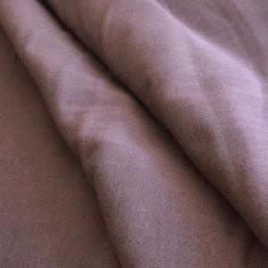 Dusty purple cotton gauze. So soft!