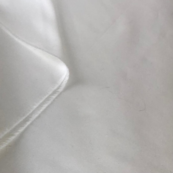 Solid White Fabric