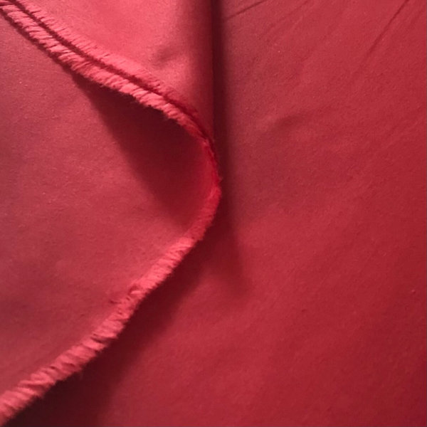 Solid red Fabric