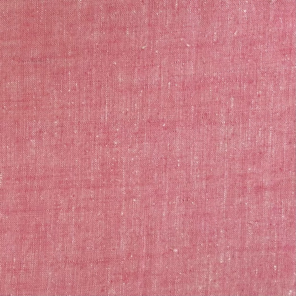 close up of heathered pink fabric