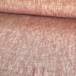 Heathered soft reddish fabric
