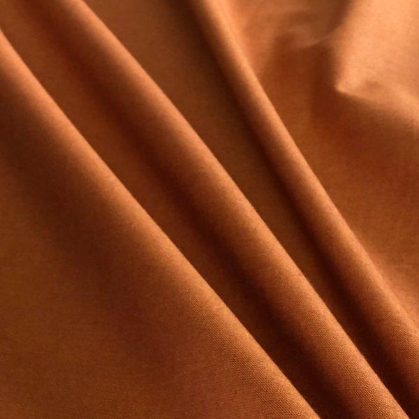 Lovely, medium burnt orange solid fabric