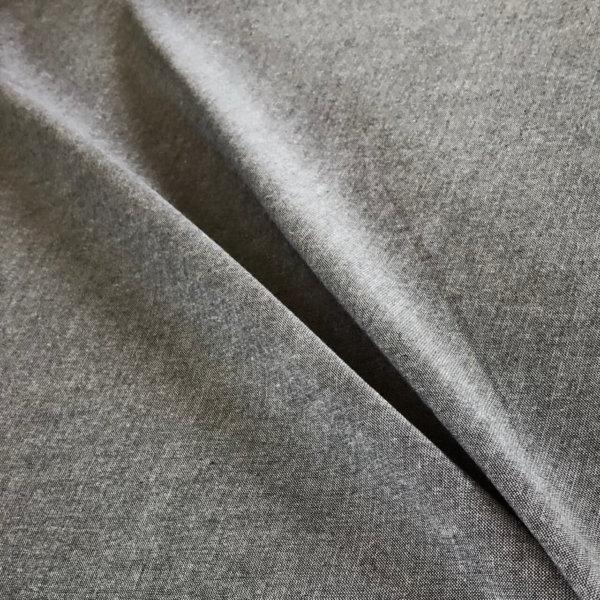 Heathered gray fabric