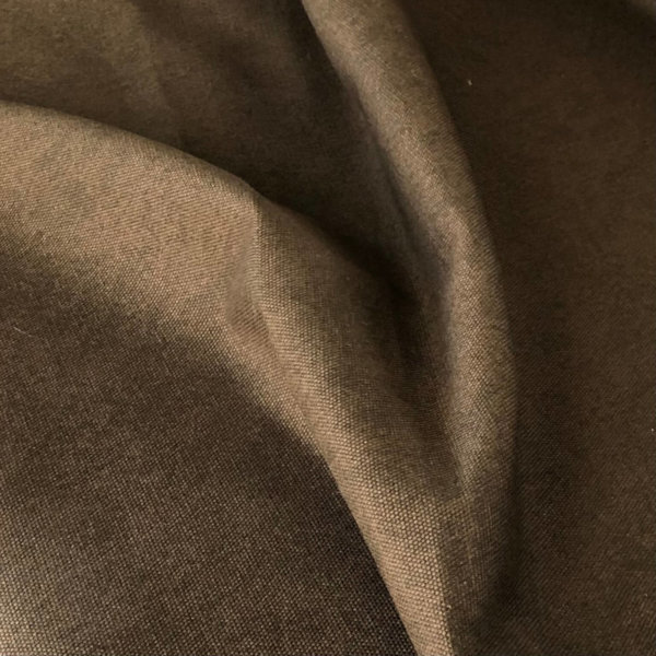 Deep, walnut brown canvas