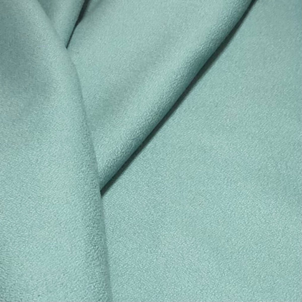 Silvery cold salt water teal flannel
