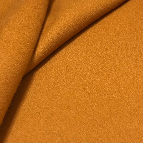 Deep, spicy rust-orange flannel